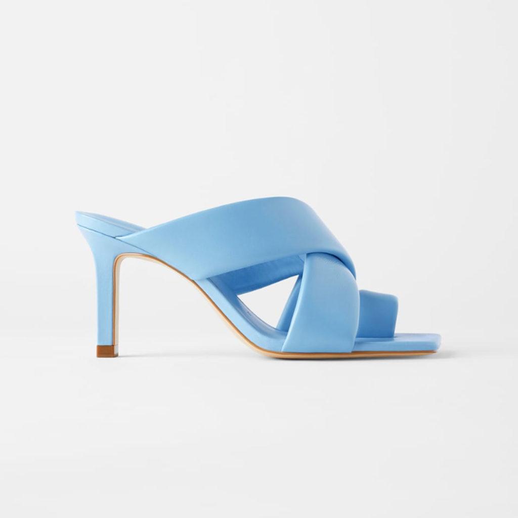 Schuhtrends: Square Toe Sandalen von Zara