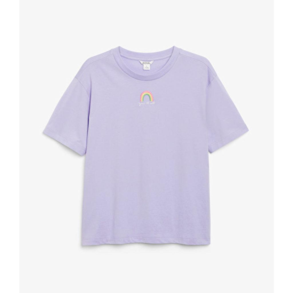 Lilac & Lime: Shirt von Monki