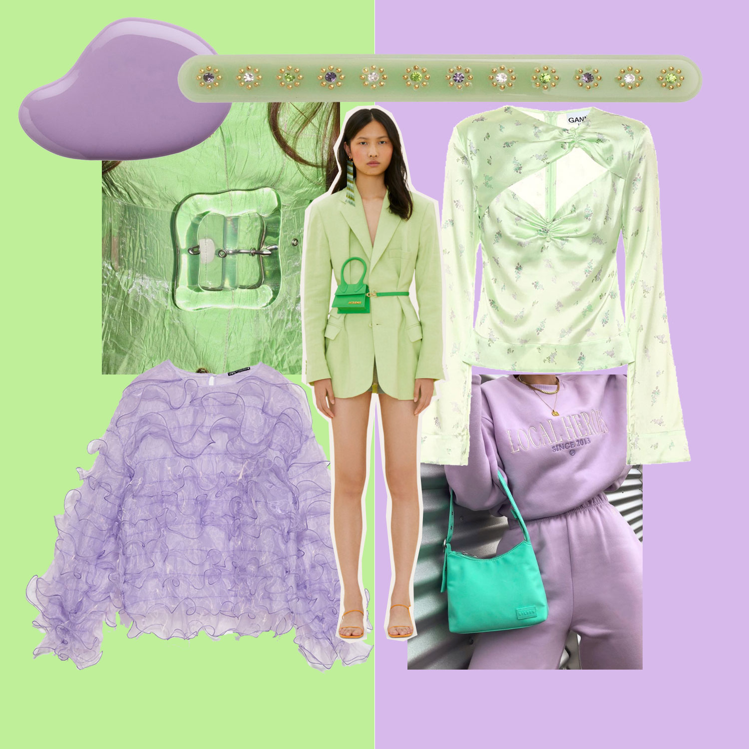Trendfarben: Lilac & Lime