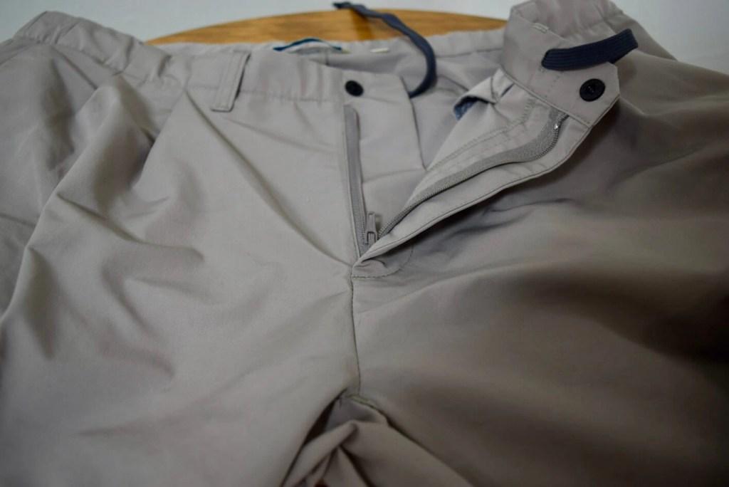 パンツの股上部分