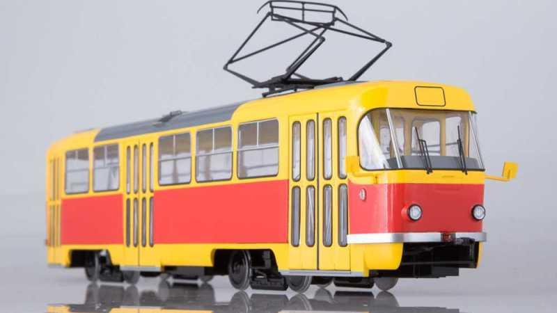 Конотоп получил два новых трамвая