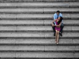 Couple at Bethesda Terrace, Central Park.