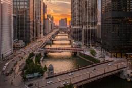 Chicago River Morning