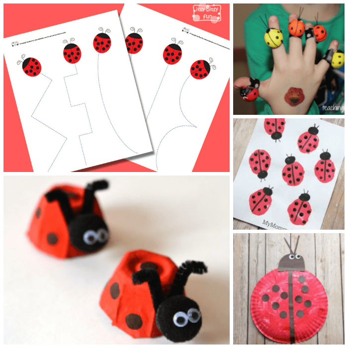 Lovely Ladybug Crafts For Preschoolers From ABCs To ACTs