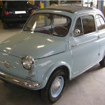 A 1962 Fiat - the size of a shoe