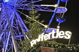 Reuzenrad (Ferris Wheel) next to the Poffertjes stall