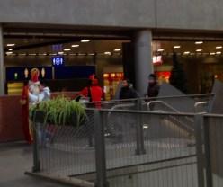 Sinterklaas and Zwarte Piet sighting at Antwerp Centraal!