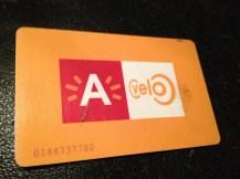 My velo card