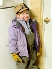 Ready to help Daddy night calve.