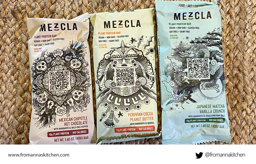 Mezcla Protein Bars review From Anna's Kitchen (www.fromannaskitchen.com)