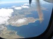 Thousand meters above the sea level on Merpati Airlines (M60)