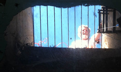 Røsnæs Vågehøj bunkeren: - Kold-krigs-bunker flugtvej