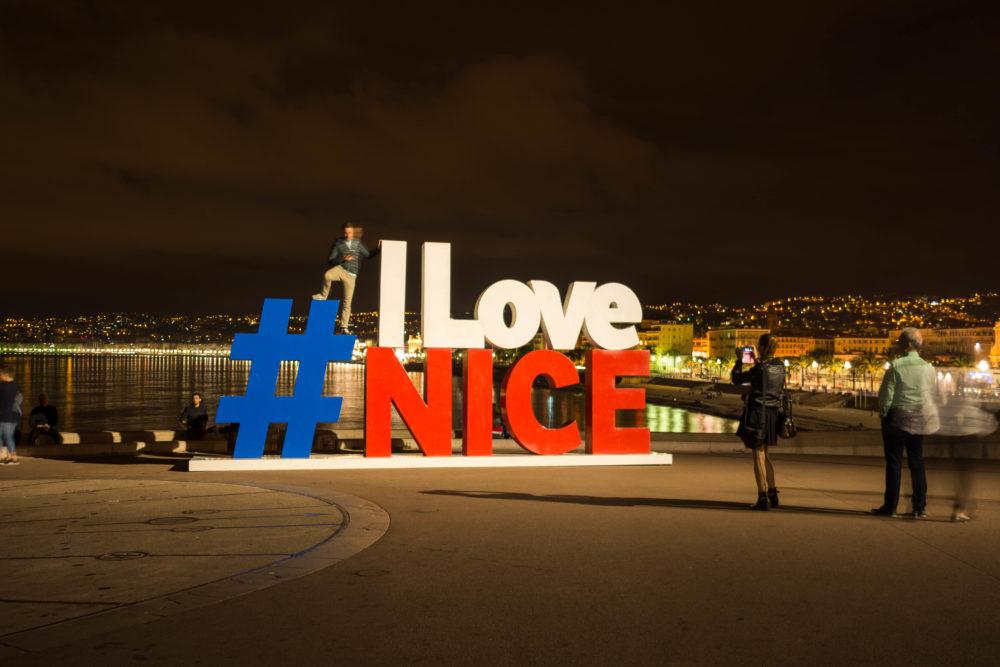 #ILoveNice nuit