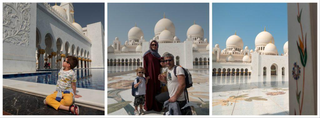 Grande Mosquée Cheikh Zayed : visite incontournable en famille