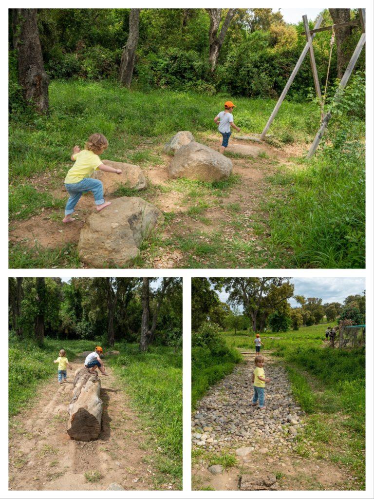 Parc Galea : le sentier sensoriel