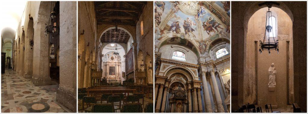 Le Duomo de Syracuse, l'intérieur