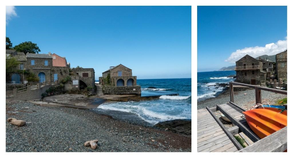 la marine de Scalo, Cap Corse