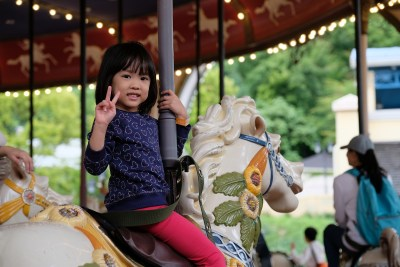 Eveyrone has to be seated during the carousel.