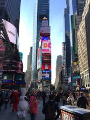 Obligatory Times Square shot