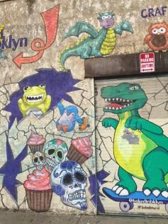 A lil street art in Brooklyn