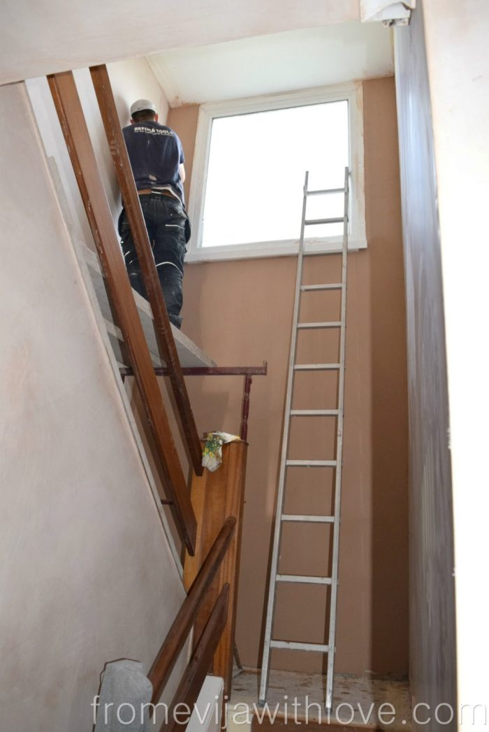 hallway-plaster