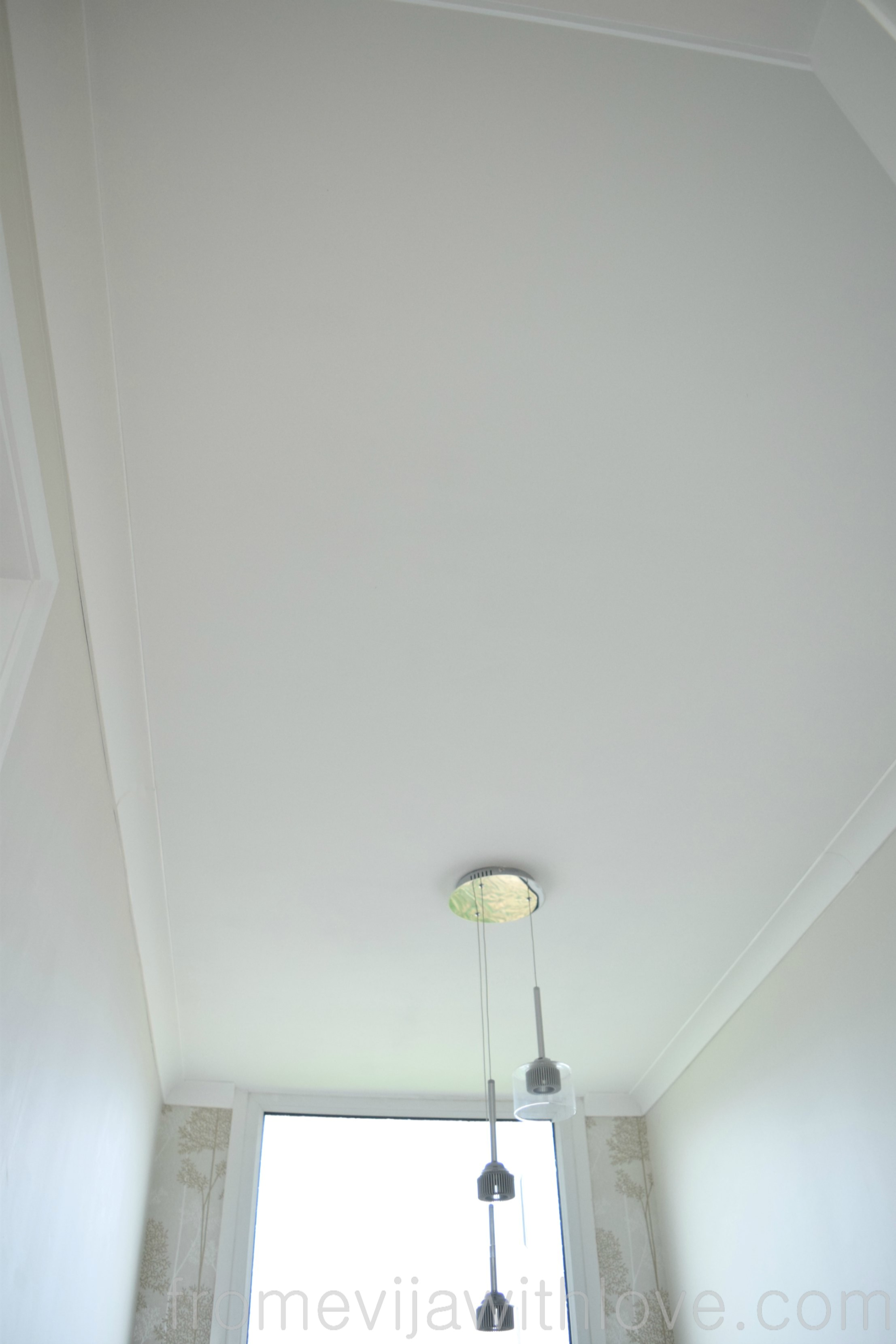 How To Fix And Level A Sagging Ceiling From Evija With Love