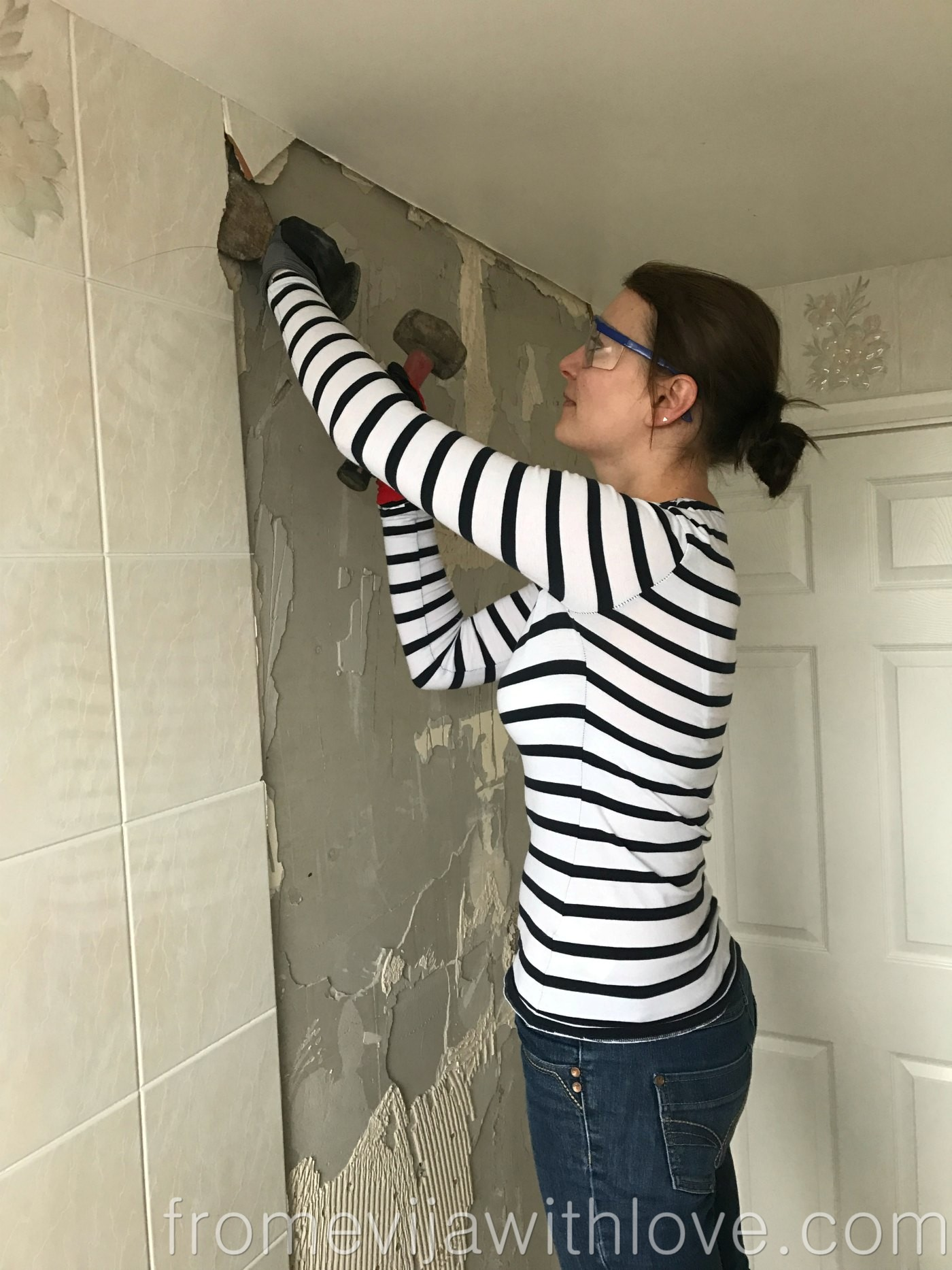 Bathroom Makeover Part 1 The Good The Bad And The