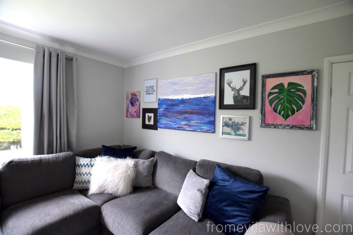 Living Room Makeover - Full list of Sources with Links
