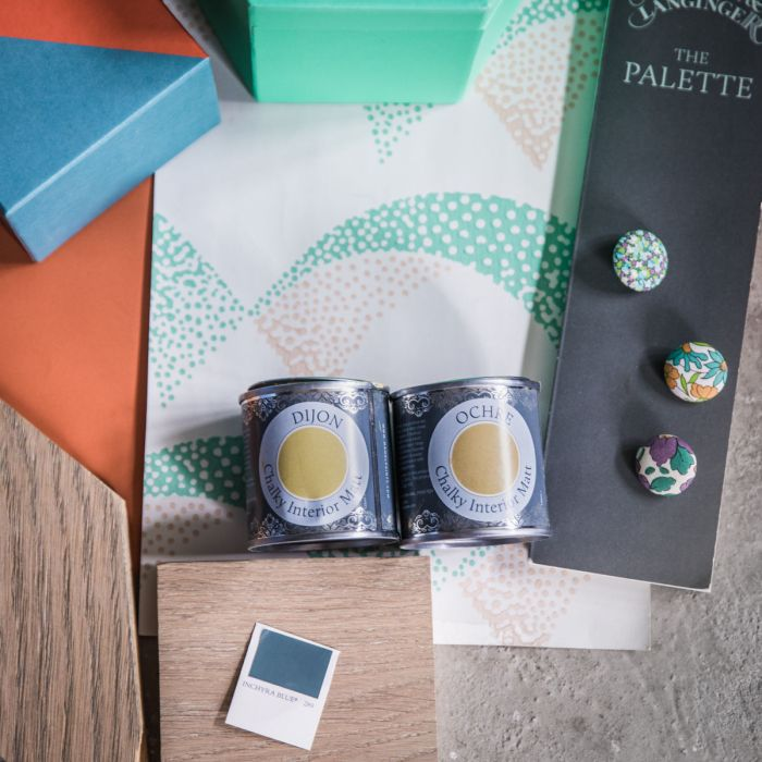 Decorating Style - Samples and paint