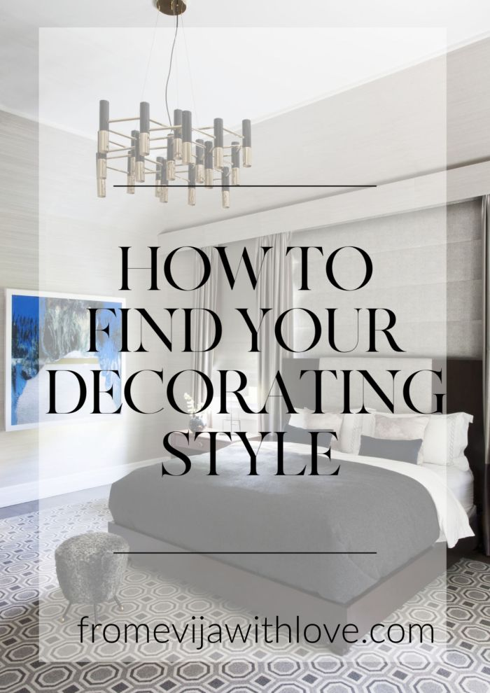 How to Find your decorating style