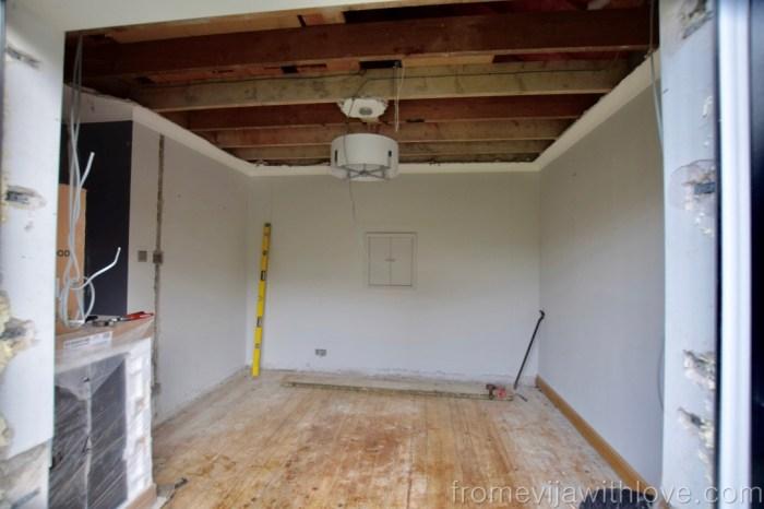 Kitchen Renovation Diaries - laod bearing wall
