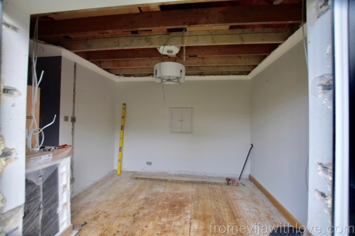 Kitchen Renovation Diaries - laod bearing wall