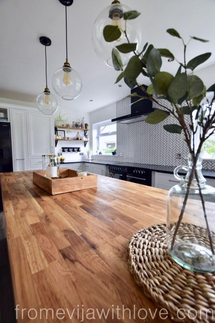 Kitchen renovation DIY project kitchen island