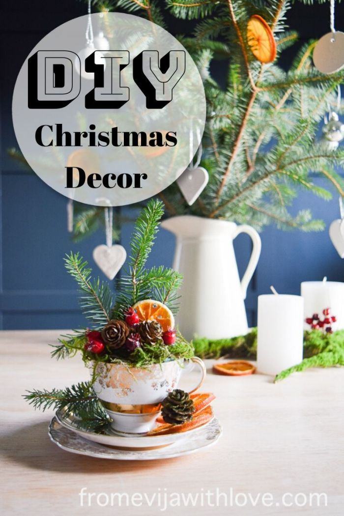 Create A Beautiful Vintage Tea Cup Christmas Decoration In 10
