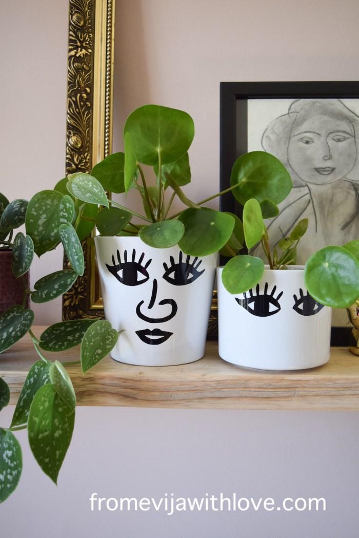 DIY plant pot using cricut maker