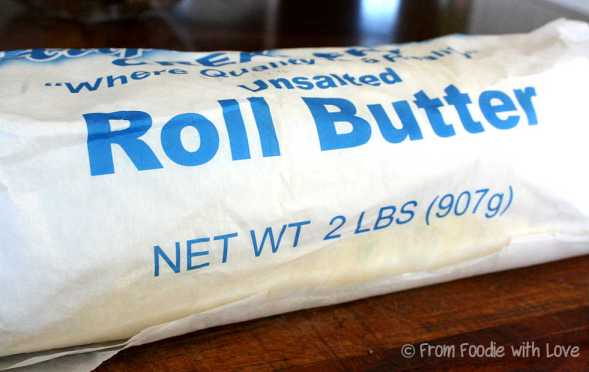 Rolled Butter
