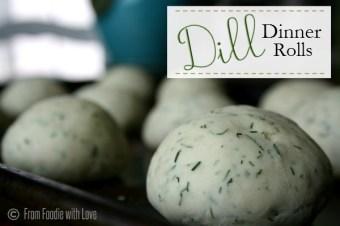 Dill Dinner Rolls