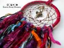 Boho Indian Elephant Rear View Mirror Dream Catcher-The perfect addition for your ride!