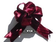 Decorative Velvet Bow-Perfect for wreaths, trees, home décor, or your holiday packages.