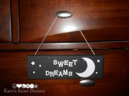 Sweet Dreams Decorative Wall Plaque