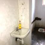 After: indoor bathroom sink complete!