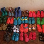 New shoes for orphanage