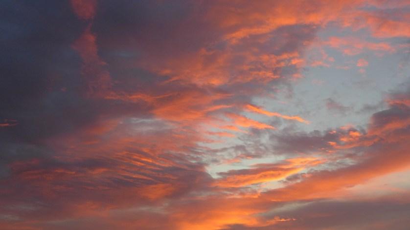 Clouds afire (2)