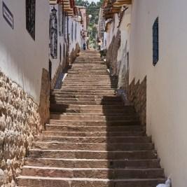 San Blas side street