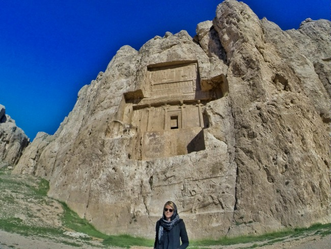 Tombs of the great Persian kings, Naqsh-i-Rustam, tomb of Darius