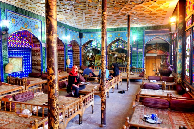 The Naqsh-e Jahan restaurant Isfahan