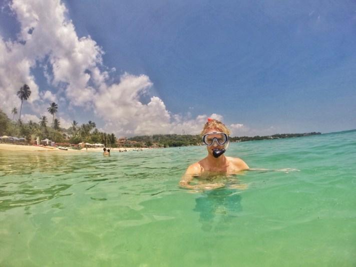 Snorkelling in Sri Lanka
