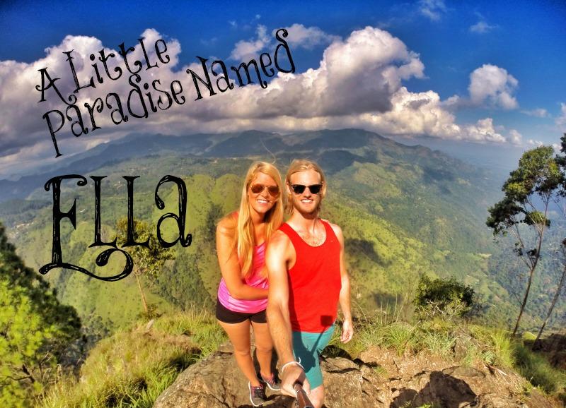 Paradise town Ella, Sri Lanka, perfect town for hiking