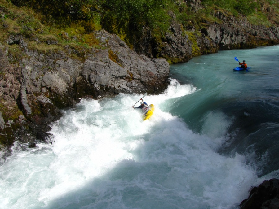 Viking Rafting Iceland Whitewater Action East Glacial River 36asa