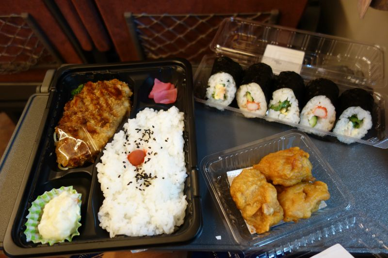 shinkansen train food
